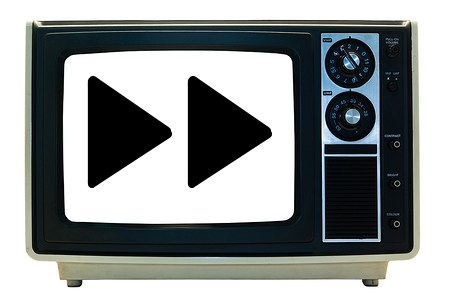 Timeshifted television means fast forwarding ads